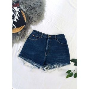 🌿 Vintage Route 66 High Waisted 90's Denim Shorts